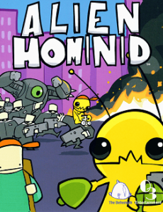Alien Hominid box art. Image courtesy of Hardcore Gaming 101.