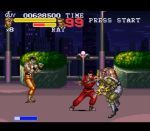 The return of Guy is something most Final Fight fans will love about this game. Image courtesy of Giant Bomb user ignor