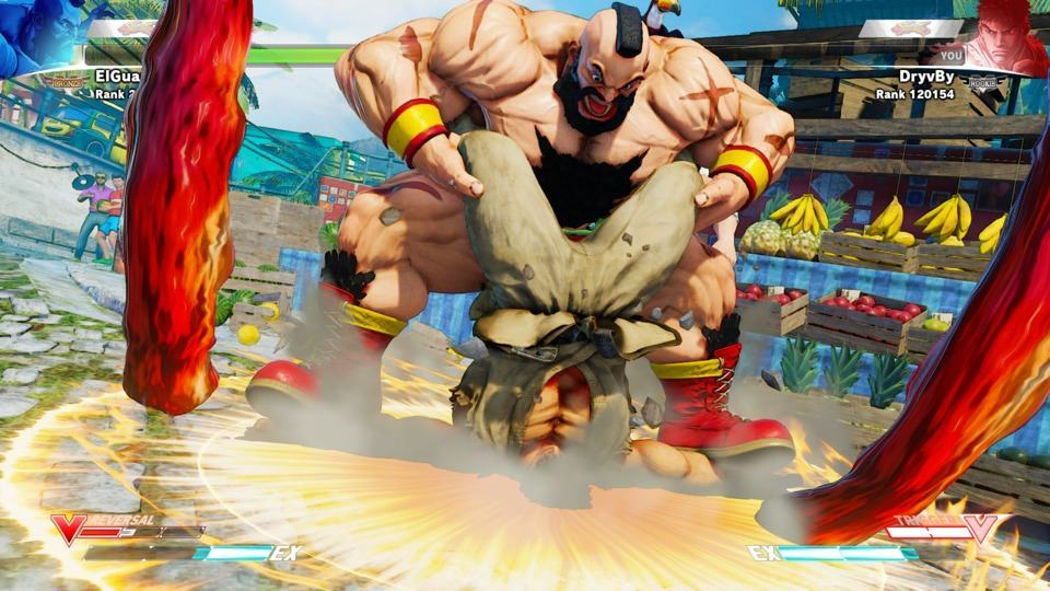 Zangief Spinning Pile Driver Street Fighter V